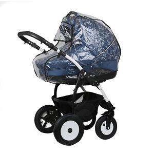 Дождевик для коляски люльки с окошком, ПВХ