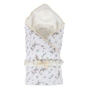 """Комплект на выписку 6 предм.(одеяло, пояс, шапочка, распашонка, чепчик,пеленка) """"Нежность"""" капитонье"""