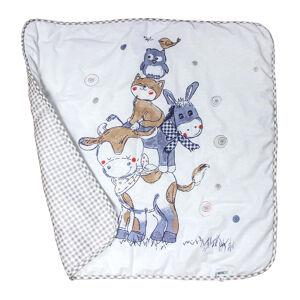 Одеяло-плед на утеплителе L`Abeille МИЛКА