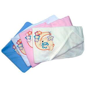 Одеяло-плед с аппликацией 80*120 Осьминожка
