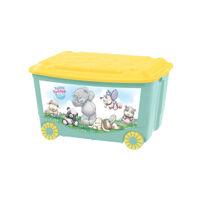 Ящик для игрушек на колесах с аппликацией Пластишка ME TO YOU