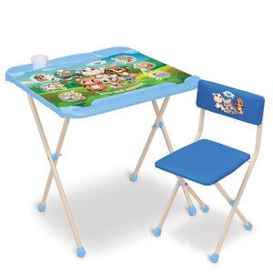 Комплект детской складной мебели Ника НАШИ ДЕТКИ-1