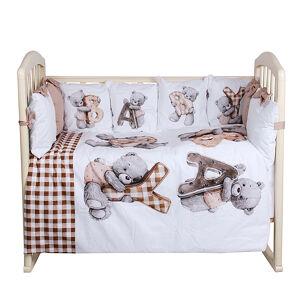 Комплект в кроватку 6 предметов Альма-Няня БЕБИ