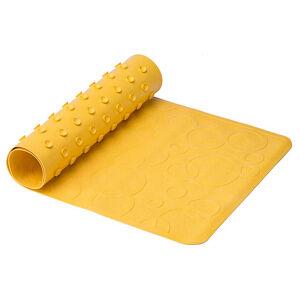 Коврик резиновый антискользящий для ванны Roxy-Kids, желтый