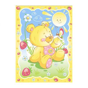 Одеяло байковое Baby Nice СОЛНЕЧНЫЙ МИШКА