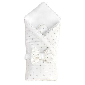"""Комплект на выписку 4 предм.(одеяло, пояс, шапочка,пеленка) """"Плюшевый"""" вельбоа, интерлок"""