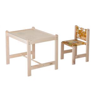 Набор игровой мебели стол+стул Гном МАЛЫШ-2