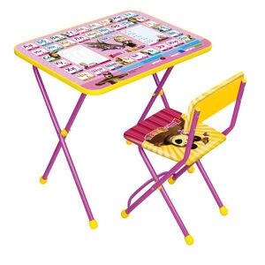 Комплект детской складной мебели Ника МАША и МЕДВЕДЬ-2