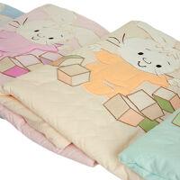 Одеяло-плед 75*115 Осьминожка ЗАЙКА С КУБИКАМИ