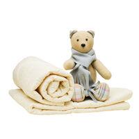 Одеяло детское стеганое Alis, синтепон 300гр, ажур, импортная бязь, кант