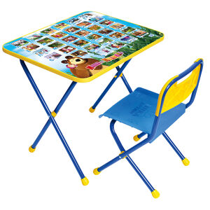 Комплект детской складной мебели Ника МАША и МЕДВЕДЬ-1