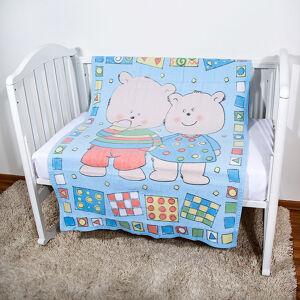 Одеяло байковое Baby Nice ДВА МЕДВЕДЯ