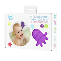 Мини-коврики для ванны Roxy-Kids 12 штук
