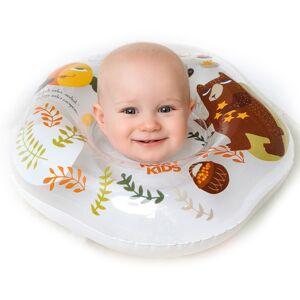 Надувной круг на шею для плавания малышей Fairytale Bear