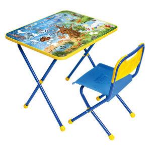 Комплект детской складной мебели Ника ПОЗНАЙКА-1