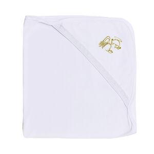 Уголок для крещения 90*90 Alis АНГЕЛ, вышивка золото, интерлок пенье