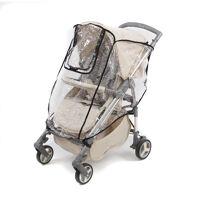 Дождевик для прогулочной коляски с окошком, ПВХ