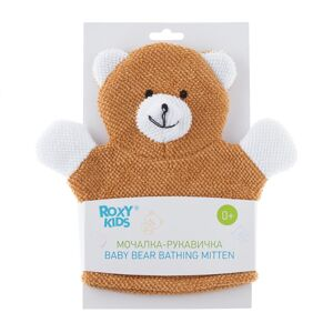 Махровая мочалка-рукавичка Roxy-Kids BABY BEAR