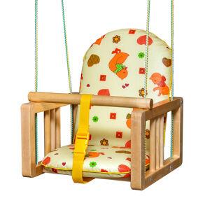 Качели подвесные с мягким сиденьем ГНОМ