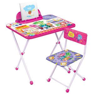 Комплект детской складной мебели Ника ФИКСИКИ ЗНАЙКА