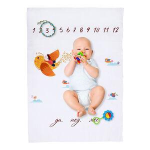 Пеленка-календарь для фотосессии 110*75 Alis, бязь