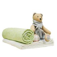 Одеяло детское стеганое Alis, синтепон 200гр., ажур, импортная бязь, кант
