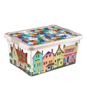 Ящик универсальный с аппликацией Пластишка