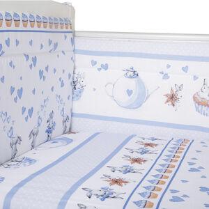 Борт в кроватку из 4-х частей Эдельвейс ЧАЕПИТИЕ