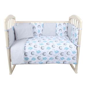 Комплект в кроватку 6 предметов Alis КУБИКИ NEW, бязь