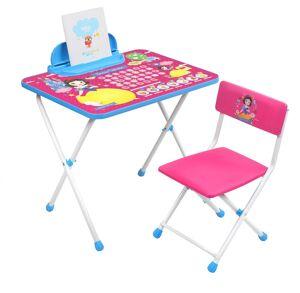 Комплект детской складной мебели Ника БЕЛОСНЕЖКА