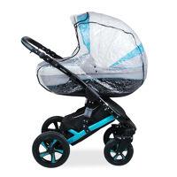 Дождевик для коляски люльки с окошком и клапаном, ПВХ