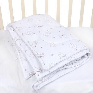 Одеяло детское 3в1 на кнопках Alis, синтепон, бязь