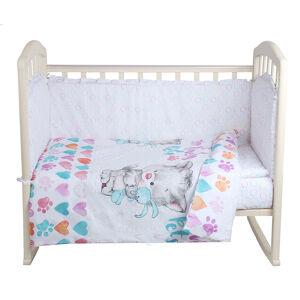 Комплект в кроватку 6 предметов Alis КИСА