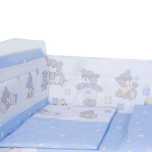 Борт в кроватку из 4-х частей Эдельвейс МИШКА