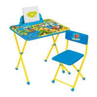 Комплект детской складной мебели Ника МИ-МИ-МИШКИ-2