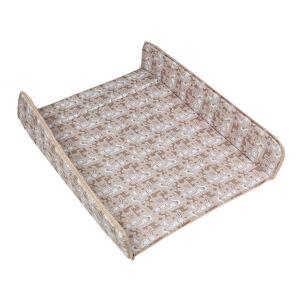 Накладка матрасик на комод для пеленания Карапуз