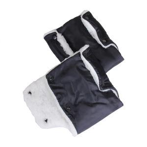 Муфта - рукавички для рук на коляску (мех)