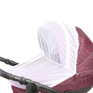 Москитная сетка для коляски универсальная (белая)